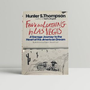 thompson hunter s fear and loathing in las vegas first us edition