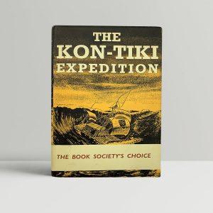 thor heyerdahl the kon tiki expedition first uk edition 1950