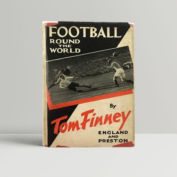 tom finney football round the world first uk edition signed 9867