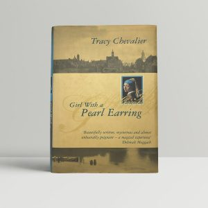 tracy chevalier girl with a pearl earring first uk edition 1999 earing