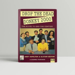 tv related drop the dead donkey 2000 1st uk edition signed