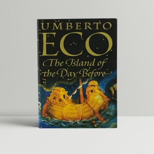 umberto eco the island of the day before first uk edition 1995 signed