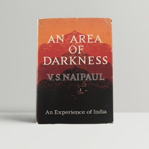 v s naipaul an area of darkness first uk edition 1964 signed