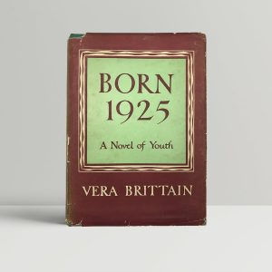 vera brittain born 1925 first uk edition 1949 signed to edith sitwell