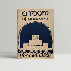 virginia woolf a room of ones own first uk edition 1929
