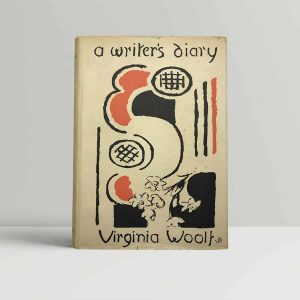 virginia woolf a writers diary first uk edition 1953 2