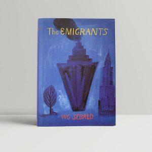 w g sebald the emigrants first uk edition 1996