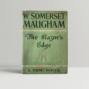 w somerset maugham the razors edge first uk edition 1944