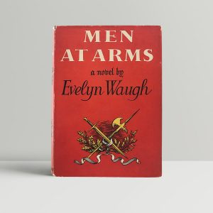 waugh evelyn men at arms first us edition 1952 signed