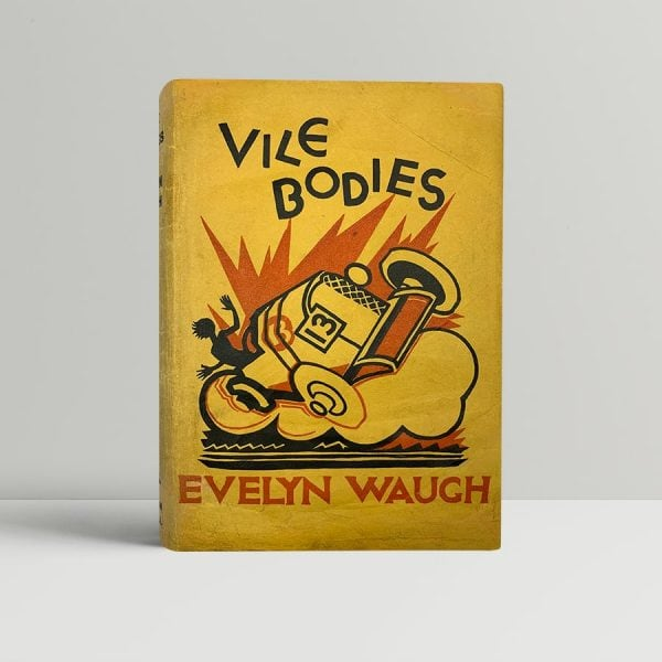 waugh evelyn vile bodies first uk edition