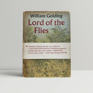 william golding lord of the flies first uk edition 1954 band