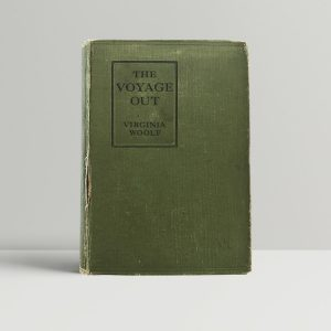 woolf virginia the voyage out first uk edition 1915