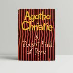 Agatha Christie A Pocketful Of Rye First Edition
