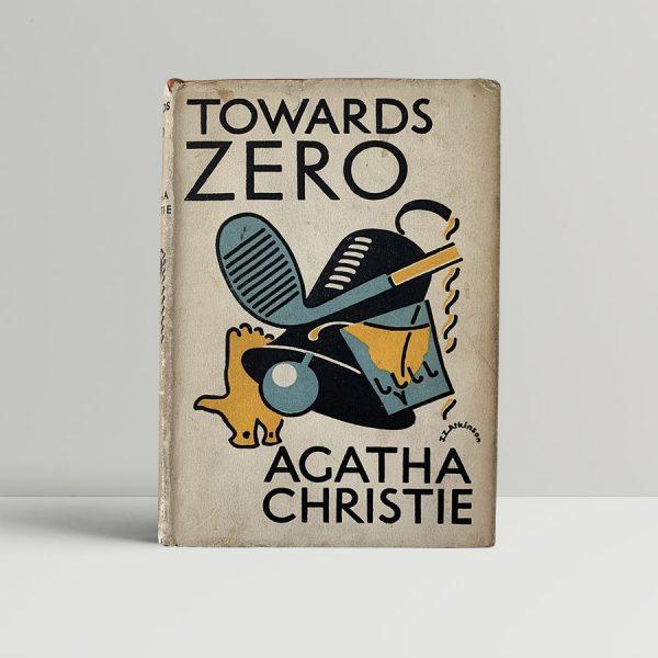 Agatha Christie Towards Zero First Edition
