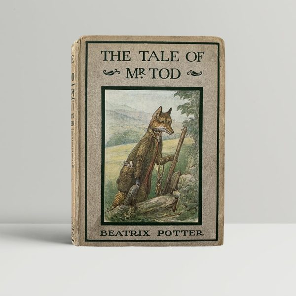 Beatrix Potter Mr Tod First Edition