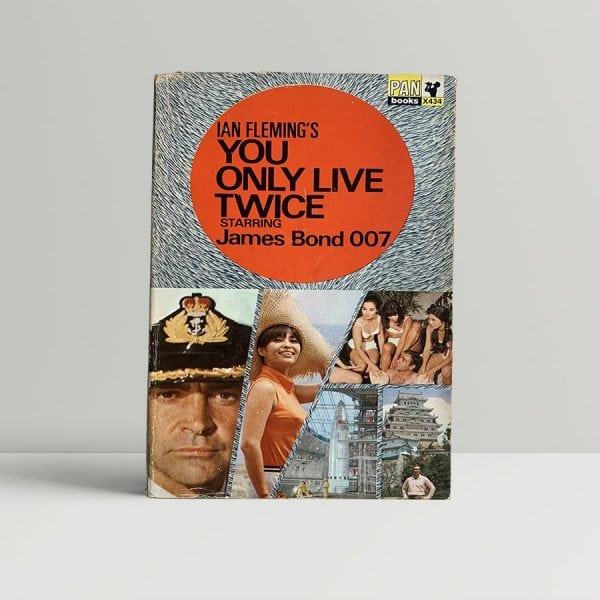 Ian Fleming You Only Live Twice Pan First Edition
