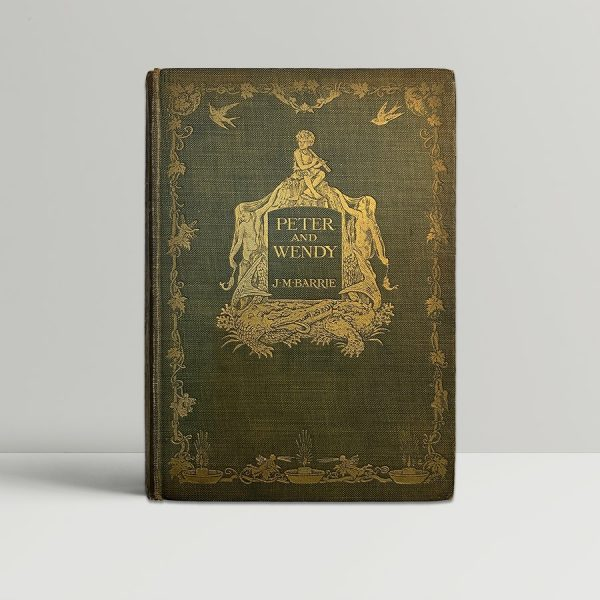 J M Barrie Peter and Wendy First Edition 1