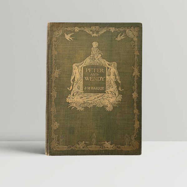 J M Barrie Peter and Wendy First Edition