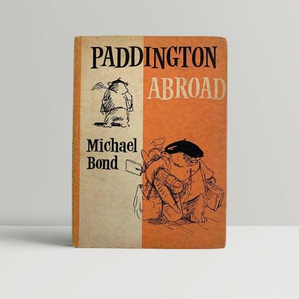 Michael Bond Paddington Abroad First Edition