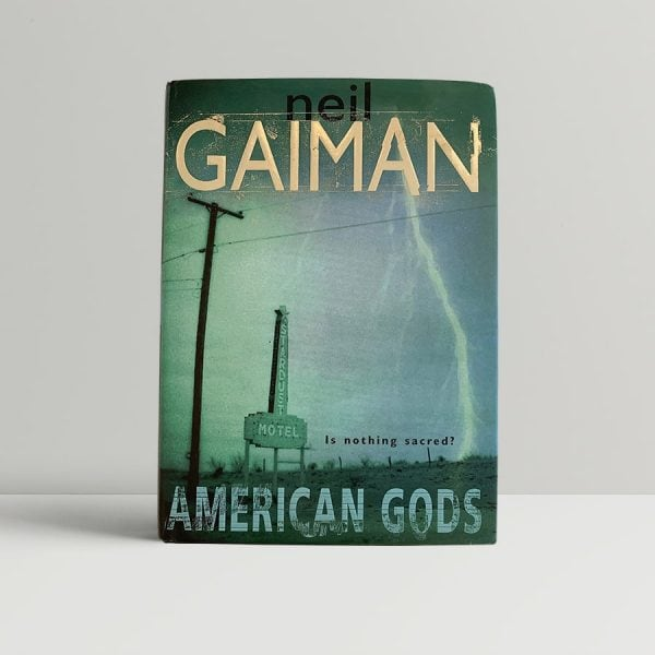 Neil Gaiman American Gods First Edition Signed