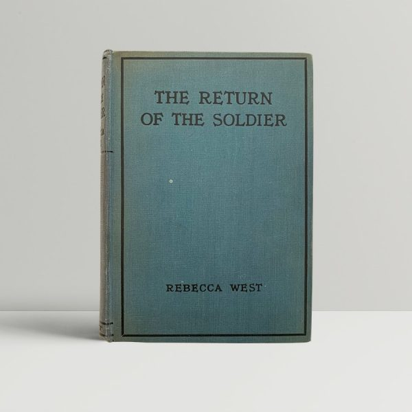 Rebecca West Return of the Soldier First Edition