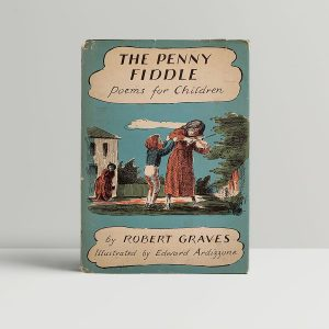 Robert Graves The Penny Fiddler First Edition