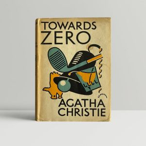 agatha christie towards zero first edition1