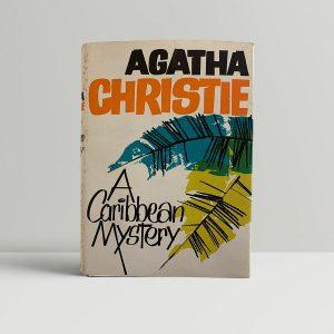 Agatha Christie A Caribbean Mystery First Edition