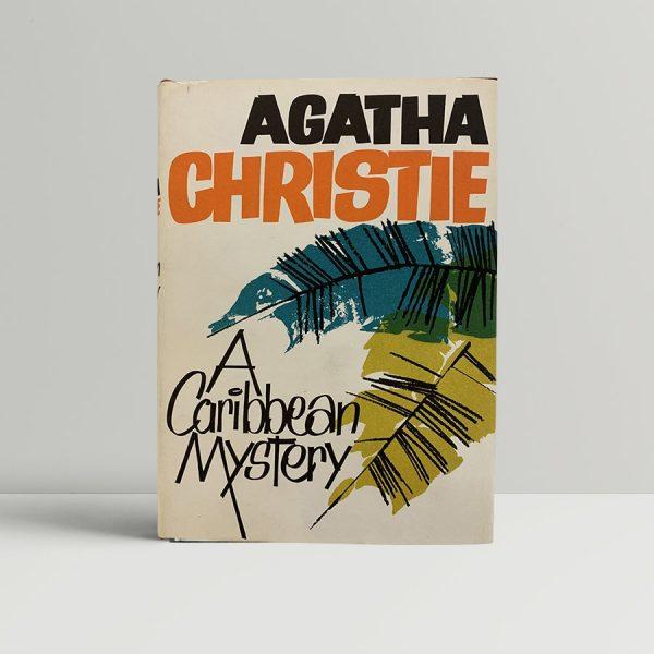 Agatha Christie Caribbean First Edition