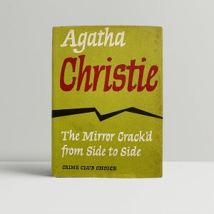 Agatha Christie Mirror First Edition