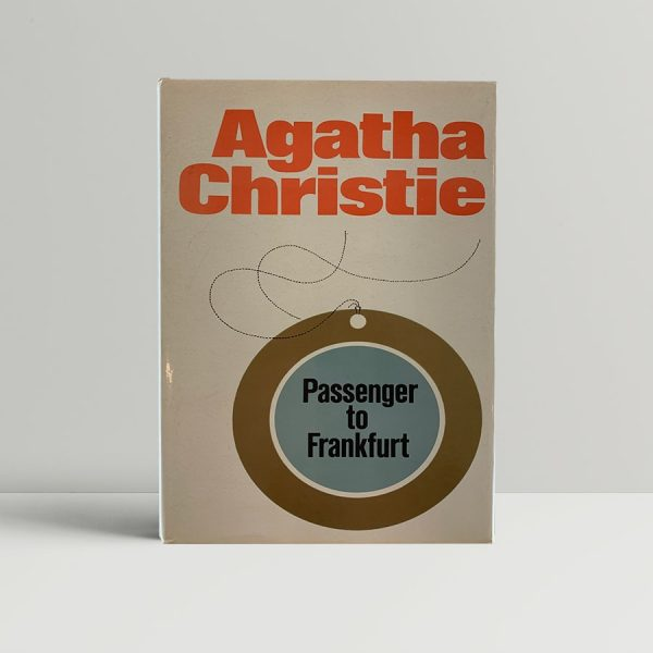 Agatha Christie Passenger To Frankfurt First Edition