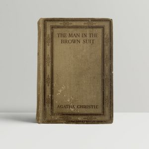 Agatha Christie The Man In The Brown Suit First Edition