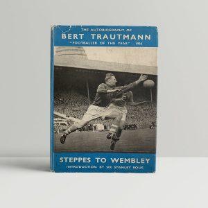 Bert Trautmann First Edition Signed