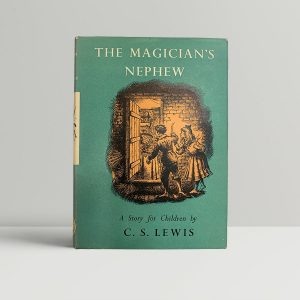 C S Lewis The Magicians Nephew First Edition