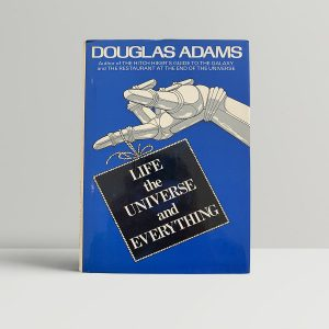 Douglas Adams Life First Edition