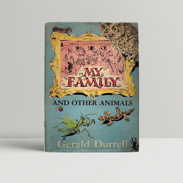 Gerald Durrell My Family First Edition Signed