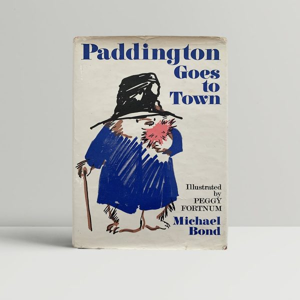 Michael Bond Goes To Town First Edition