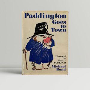 Michael Bond Paddington Goes To Town first Edition