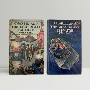 Roald Dahl Chocolate Factory Glass Elevator First Edition