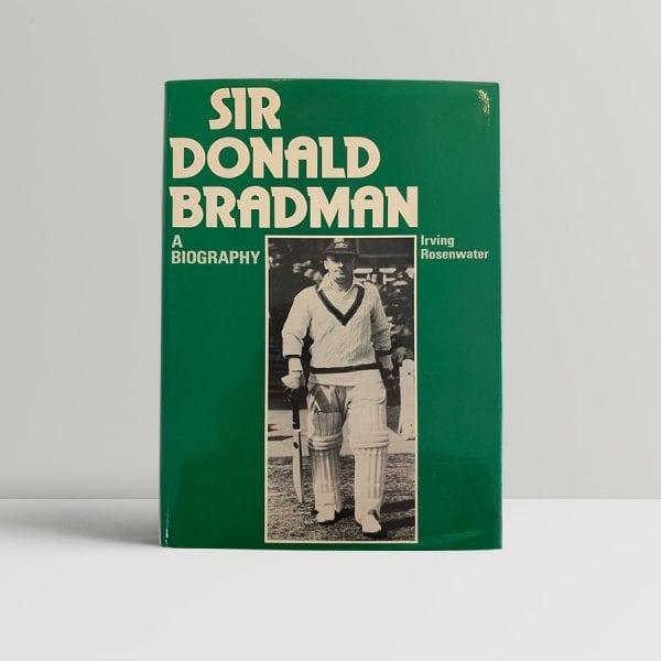 Sir Donald Bradman First Edition Signed