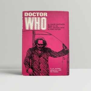 Whitaker Dr Who First Edition