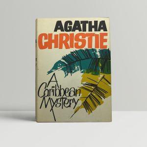 agatha christie a caribbean mystery 1st ed1