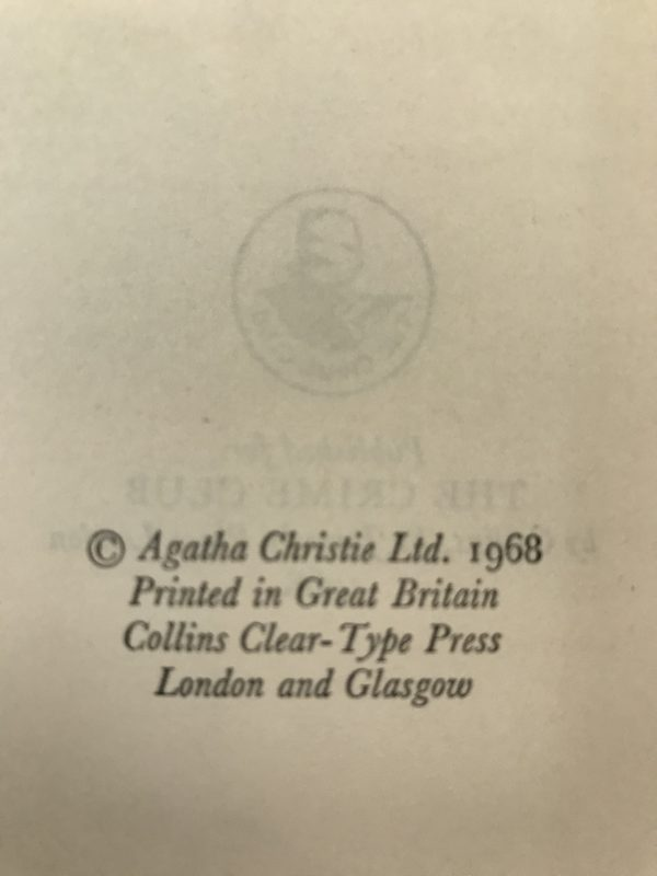 agatha christie by the pricking of my thumbs first edition2