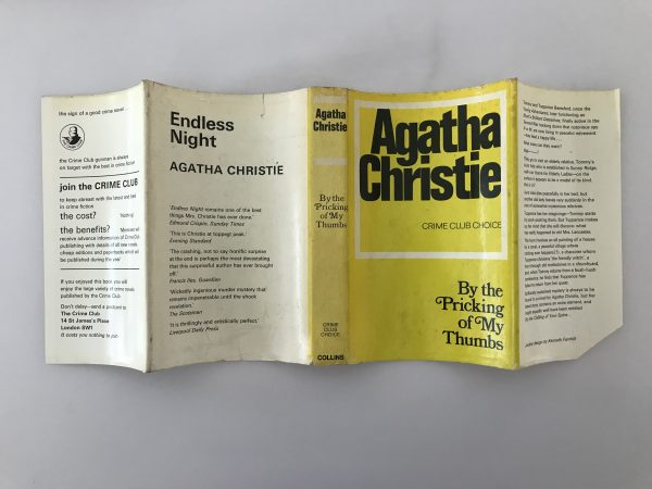 agatha christie by the pricking of my thumbs first edition4
