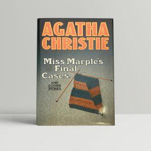 agatha christie miss marple first ed 65 1