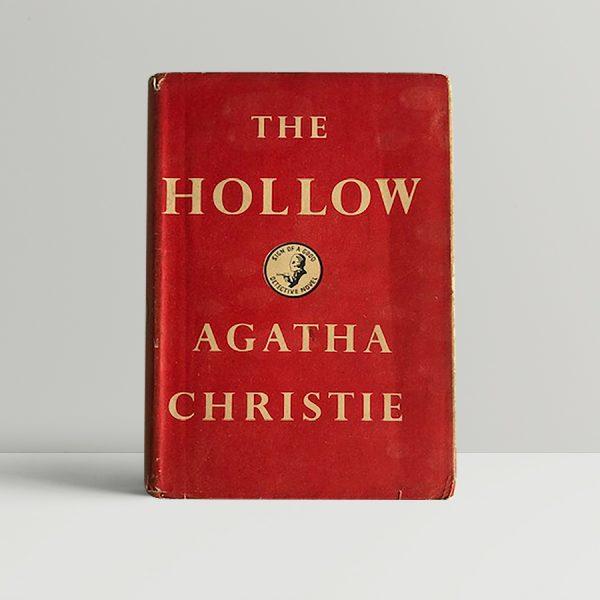 agatha christie the hollow first ed1