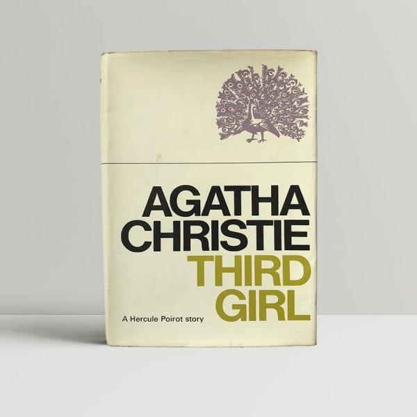 agatha christie third girl first edition1