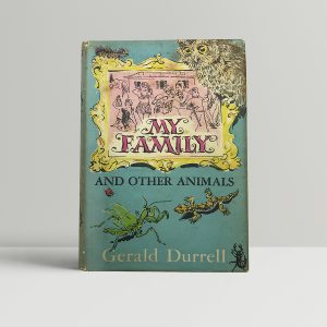 gerald durrell my famiuly and other animals signed first edition1