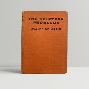 Agatha Christie The Thirteen Problems First Edition