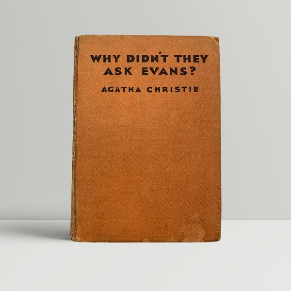 Christie Why Didnt They Ask Evans First Edition